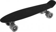 Скейтборд 56х14см, черный 7+