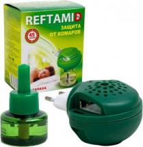Фумигатор Рефтамид универсальный с жидкостью без запаха