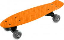 Скейтборд 41х12см, оранжевый 5+