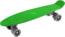 Скейтборд 56х14см, зеленый 7+