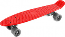 Скейтборд 56х14см, красный 7+