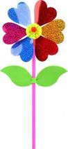 Вертушка Цветок с лепестками 35 см