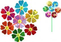 Вертушка Цветы 7в1 51 см