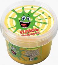 Слайм Плюх Зефирка лимон 120 гр