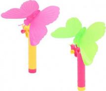 Бабочки с запуском и световыми эффектами