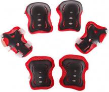 Защита роликовая размер S, красный