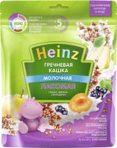 Каша Heinz Лакомая молочная гречневая грушка-абрикос-смородинка с 5 мес 170 г