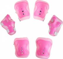 Защита роликовая размер S, розовый