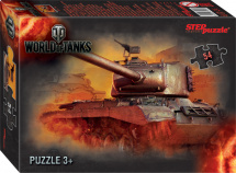 Пазлы Steppuzzle World of Tanks 54 элемента