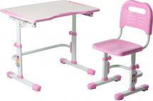 Парта-трансформер FunDesk Vivo II Pink + стул-трансформер