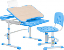 Парта-трансформер FunDesk Bellissima Blue + стул