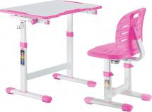 Парта-трансформер FunDesk Omino Pink + стул