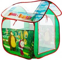 Палатка Играем вместе Маша и Медведь 83х80х105 см