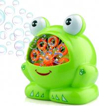 Набор для пускания мыльных пузырей 1Toy Мы-шарики! Лягушонок