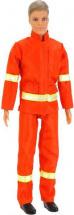 Кукла Defa Lucy Мальчик пожарный