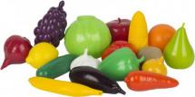 Набор Совтехстром Фрукты и овощи 17 предметов