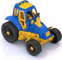 Трактор Нордпласт, синий