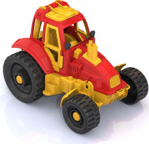 Трактор Нордпласт, красный