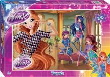 Пазлы Steppuzzle Rainbow. Winx-2 260 элементов