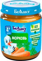 Пюре Беллакт Морковь с 4 мес 100 г