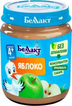 Пюре Беллакт Яблоко с 4 мес 100 г
