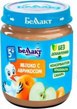 Пюре Беллакт Яблоко-Абрикос с 5 мес 100 г