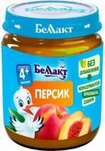 Пюре Беллакт Персик с 4 мес 100 г