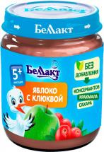 Пюре Беллакт Яблоко-Клюква с 5 мес 100 г