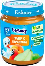 Пюре Беллакт Персик-Груша с 5 мес 100 г