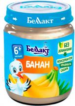 Пюре Беллакт Банан с 6 мес 100 г