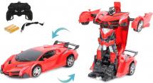 Машина-робот Пламенный мотор Космобот Калисто, красный
