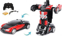 Машина-робот Пламенный мотор Космобот Калисто, красно-черный