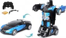 Машина-робот Пламенный мотор Космобот Калисто, сине-черный