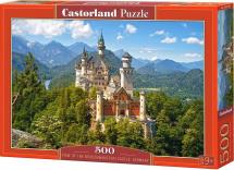 Пазлы Castorland Вид на замок Нойшванштайн 500 элементов