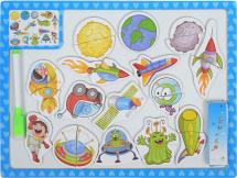 Доска для рисования Mapacha Сюжеты Космос