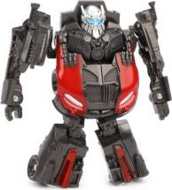 Трансформер Zhorya Механиксы. Робот-Машина, черный с красным