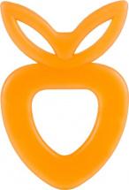 Прорезыватель Knopa Клубничка, оранжевый