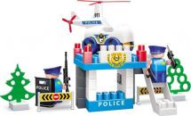 Конструктор Bauer Полиция. Вертолетная площадка