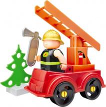 Конструктор Bauer Fireman. Пожарная машина