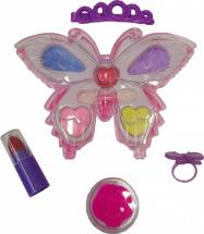 Косметика для куклы Тени для век, помада, блеск и украшения