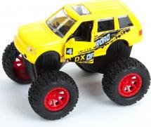 Машинка Пламенный мотор Бигфуты, желтый