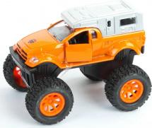 Машинка Пламенный мотор Бигфуты, оранжевый