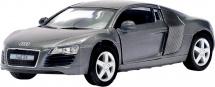 Машинка Kinsmart Audi R8, серебристый