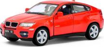 Машинка Kinsmart BMW X6, красный