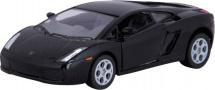 Машинка Kinsmart Lamborghini Gallardo, черный