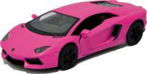 Машинка Kinsmart Lamborghini Aventador, розовый