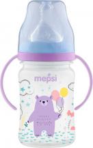 Бутылочка Mepsi Forest animal Мишка 270 мл