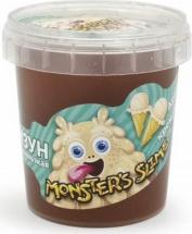 Слайм Monsters Slime Крем-брюле 100г, бежевый