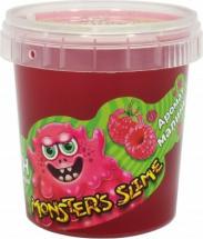 Слайм Monsters Slime Малина 100г, розовый