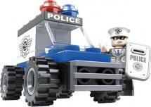 Конструктор Ausini Полиция. Автомобиль 33 детали